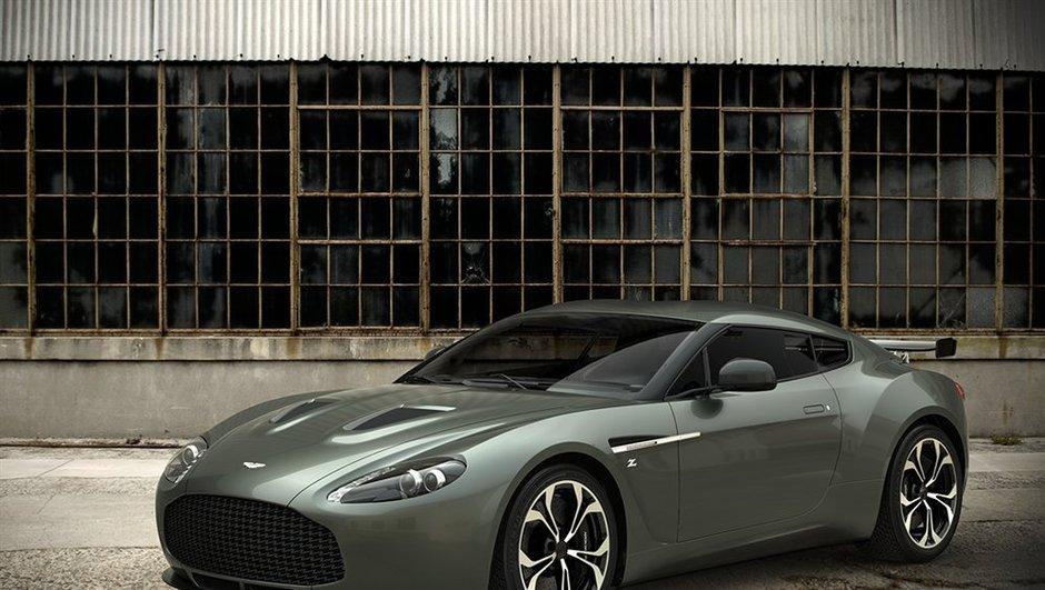 Salon de Francfort 2011 : Aston Martin V12 Zagato, la version de route