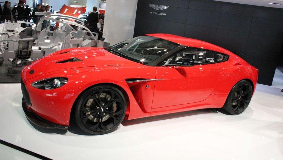 Salon de Francfort 2011 : Aston Martin V12 Zagato, anglaise à l'accent italien