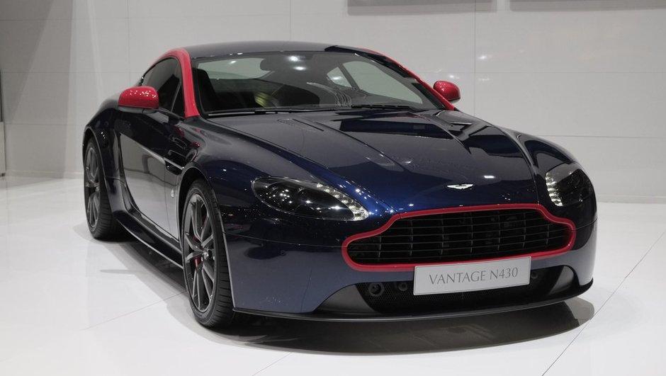 Salon de Genève 2014 : Aston Martin V8 Vantage N430, énième édition spéciale