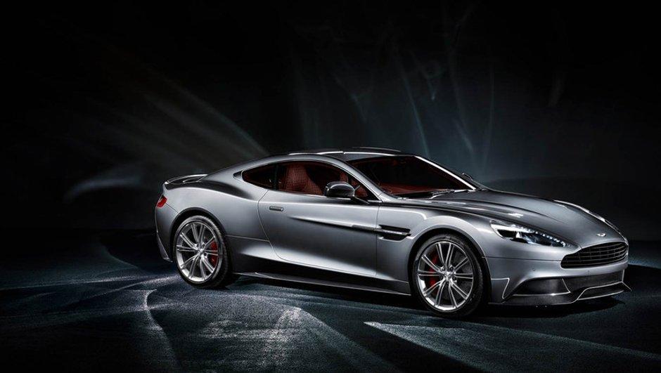 Aston Martin Vanquish 2012 : la vidéo officielle