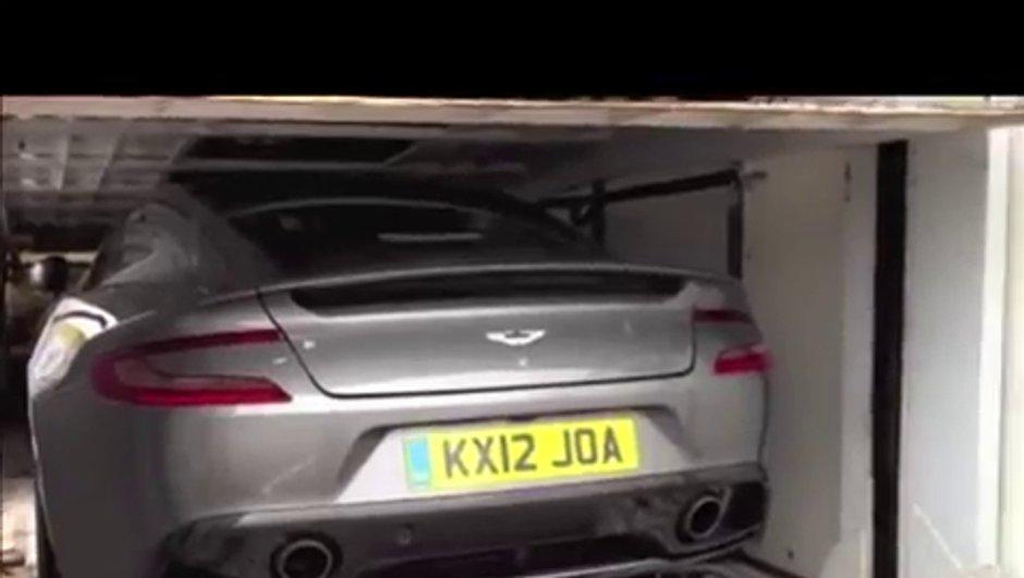 Aston Martin Vanquish est la future DBS !