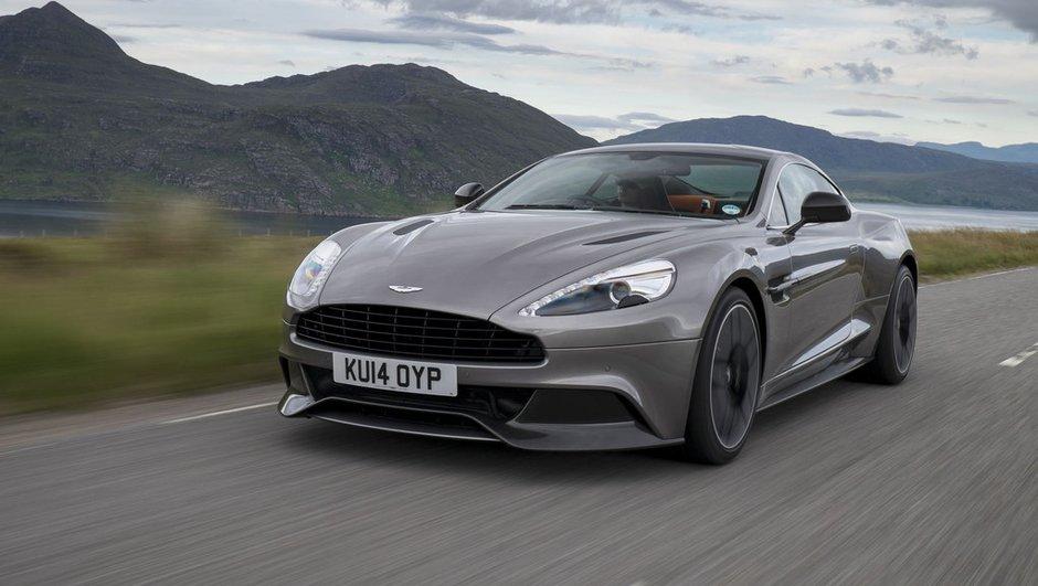 Aston Martin Vanquish et Rapide 2015 : une nouvelle boîte et de meilleures performances