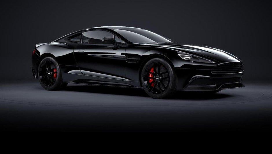 Aston Martin Vanquish Carbon Edition 2014 : nouvelle série noire