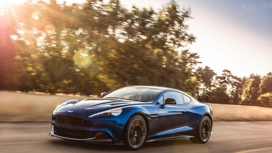 Nouvelle Aston Martin Vanquish S 2017 : les infos et photos officielles