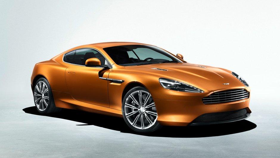 Salon de Genève 2011 : Aston Martin Virage