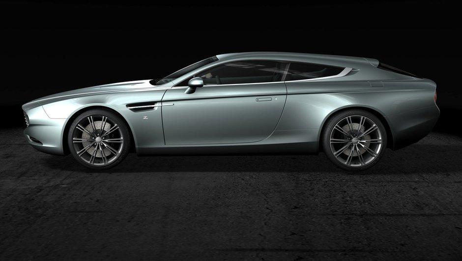 Aston Martin Virage Shooting Brake 2014 : le carrossier Zagato a encore frappé
