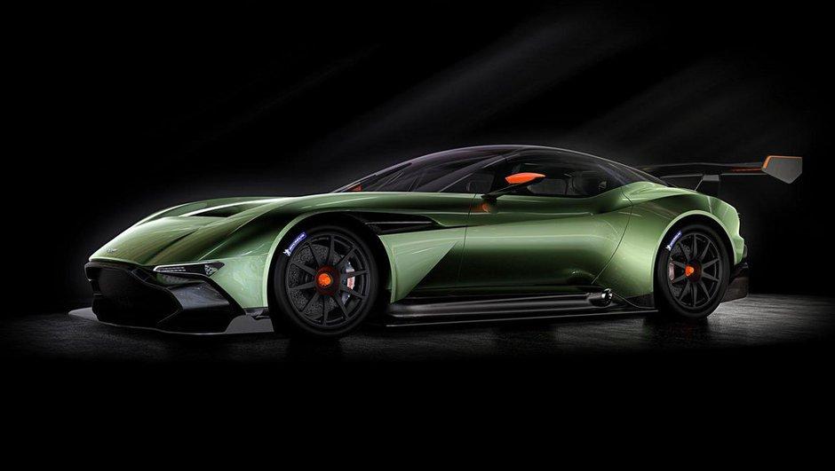 Aston Martin Vulcan 2015 : plus de 810 chevaux pour la pistarde anglaise !
