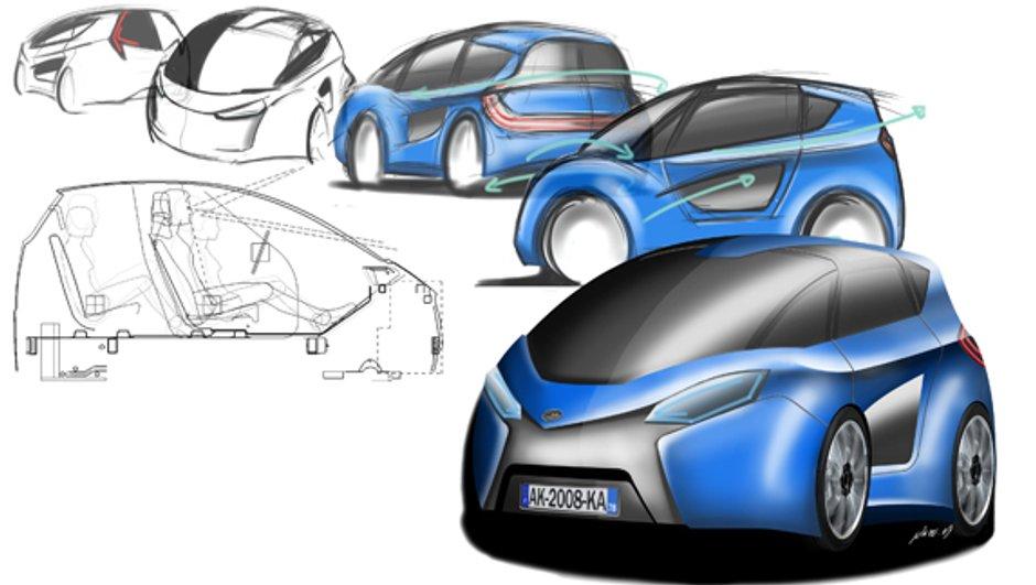 Le véhicule urbain pour les Yvelines se nomme Astute Car