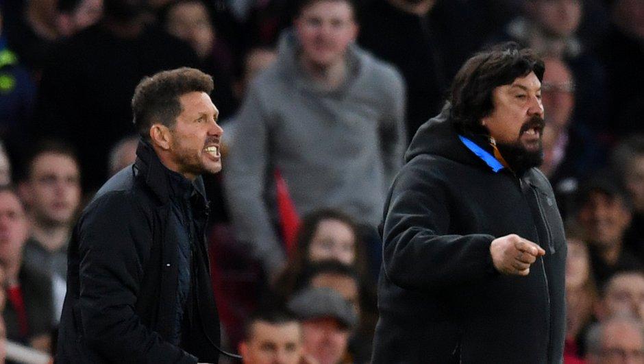 """Ligue Europa / Simeone : """"Mes joueurs sont des héros"""""""