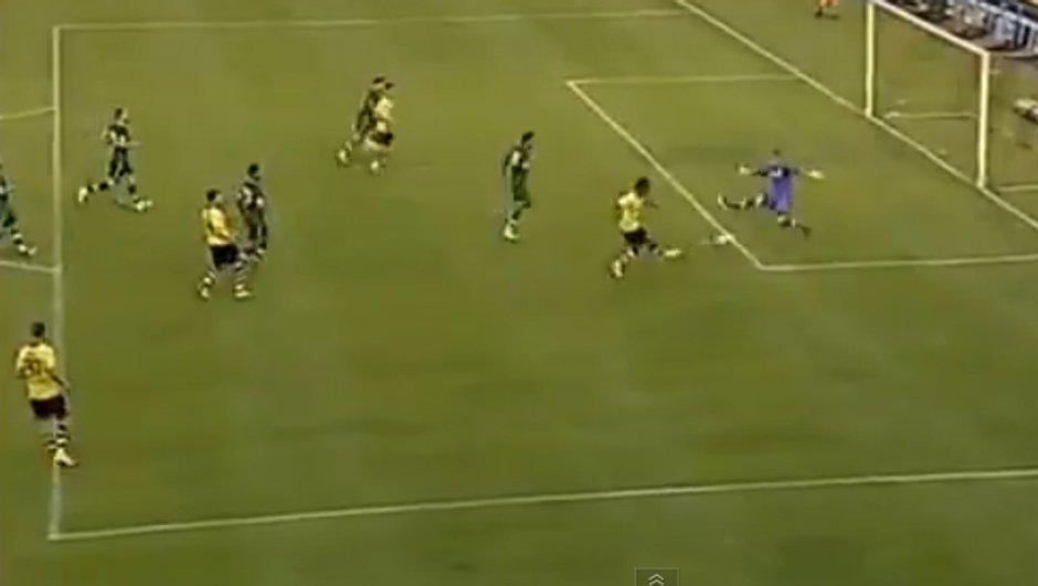 VIDEO ASSE : le premier but d'Aubameyang avec Dortmund