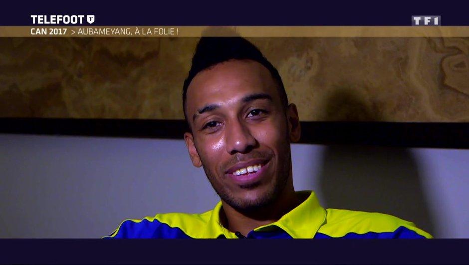 """[Exclu Téléfoot 15/01] - Aubameyang : """"On va arrêter de parler du Real Madrid, ce n'est pas le moment"""""""