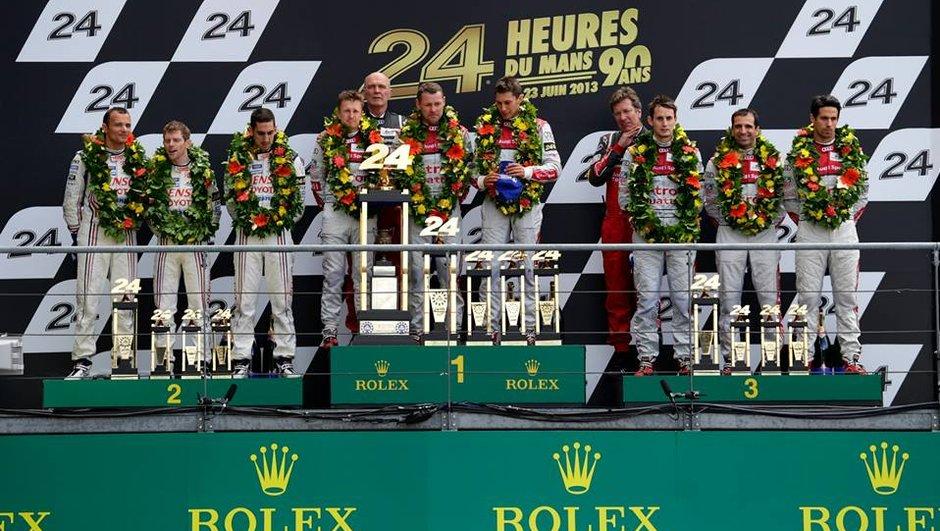 24 h du Mans 2013 : victoire de l'Audi n°2