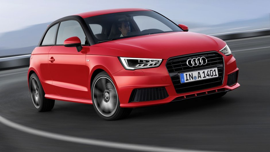 Audi A1 2015 : micro-restylage et moteurs 3 cylindres au programme