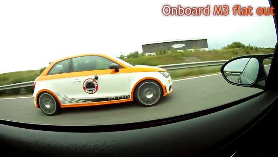 Audi A1 MTM Nardo Edition : 324 km/h en vidéo !