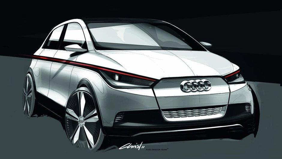 Salon de Francfort 2011 : Audi A2 Concept, retour du minispace