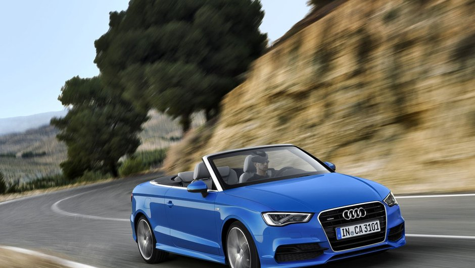 Audi A3 cabriolet 2014 : une nouvelle génération plus élancée