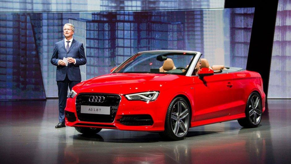 Salon de Francfort 2013 : Audi A3 Cabriolet, place au confort