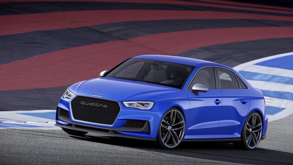 Audi A3 clubsport quattro : un concept de future RS3 gonflé à 525 ch