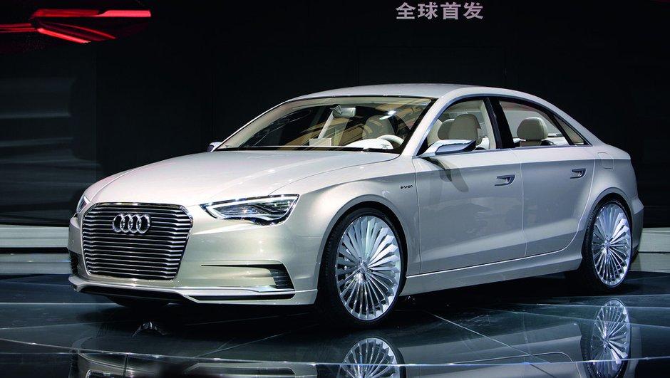 Audi A3 e-tron Concept : étude hybride rechargeable