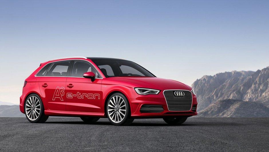 Salon de Genève 2013 : Audi A3 e-tron Concept, seulement 1,5 l/100 km