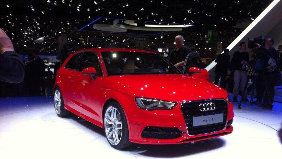 Salon de Genève 2012 : nouvelle Audi A3, futurs anneaux à succès