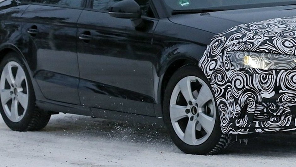 Scoop - Audi A3 2016 : la version restylée en classe de neige