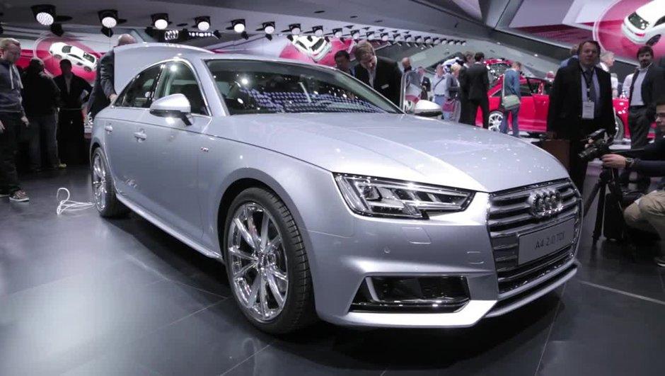 Salon de Francfort 2015: Audi A4, à la recherche de l'efficience