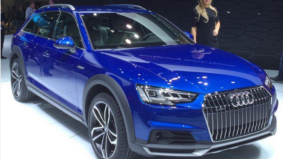 Salon de Detroit 2016 : Audi A4 Allroad quattro, le break tout-terrain se renouvelle