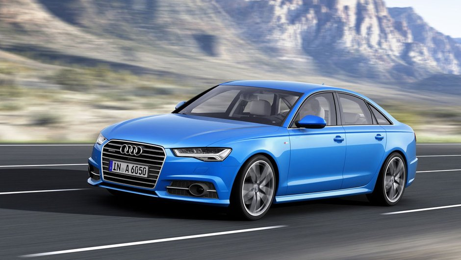 Audi A6 2014 : un petit restylage mais le plein de puissance