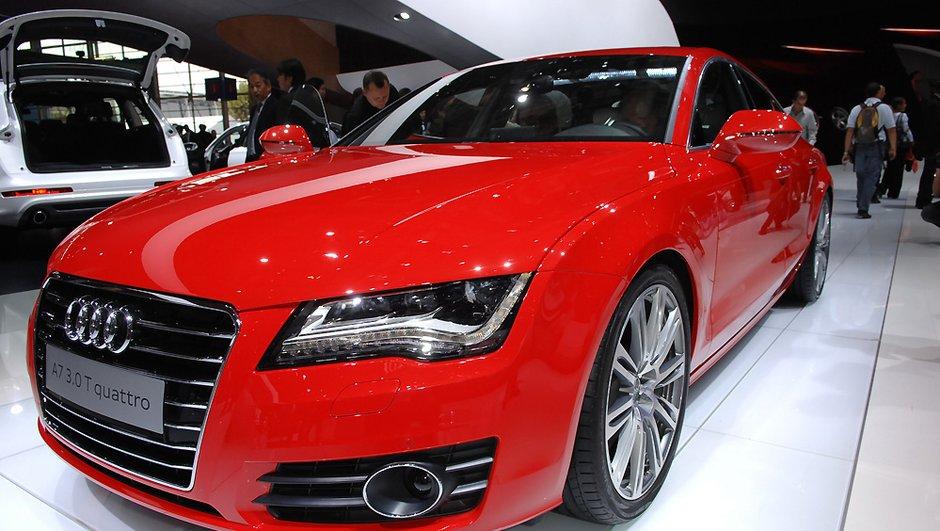 L'Audi A7 Sportback à l'assaut de la concurrence au Mondial de l'Auto