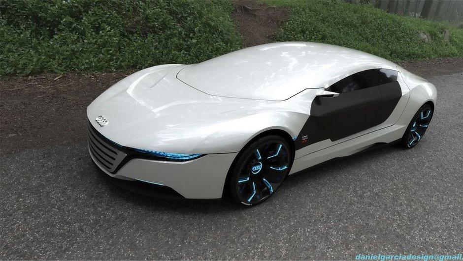 Une Audi A9 Concept imaginée par un designer espagnol