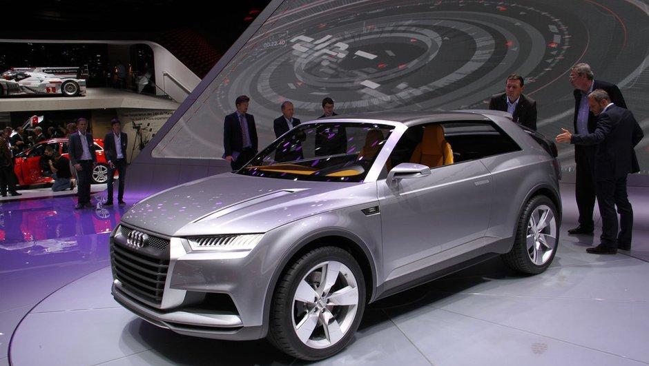 Mondial de l'Auto 2012 : Audi prépare son Q2 avec le concept Crosslane Coupé
