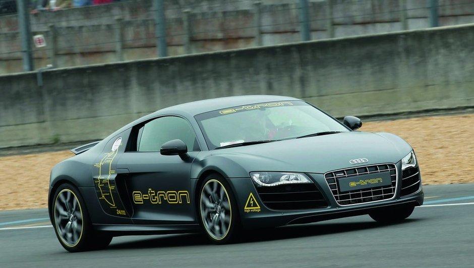 Audi e-tron au Mans : la R8 électrique se rapproche