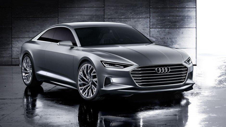 Audi Prologue Concept 2014 : la future A9 préfigurée avec un design inédit