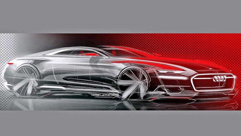 Audi Prologue Concept 2014 : les premiers dessins dévoilés pour la future A9 ?