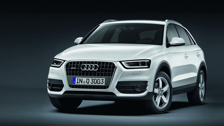 Audi Q3 : présentation à l'aube du Salon de Shanghai