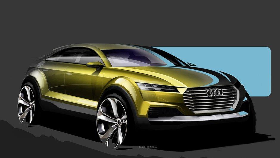 Audi : un concept-car préfigurateur du Q4 au Salon de Pékin 2014 ?