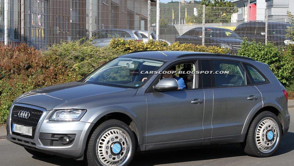 Débuts des tests pour le futur Audi Q6