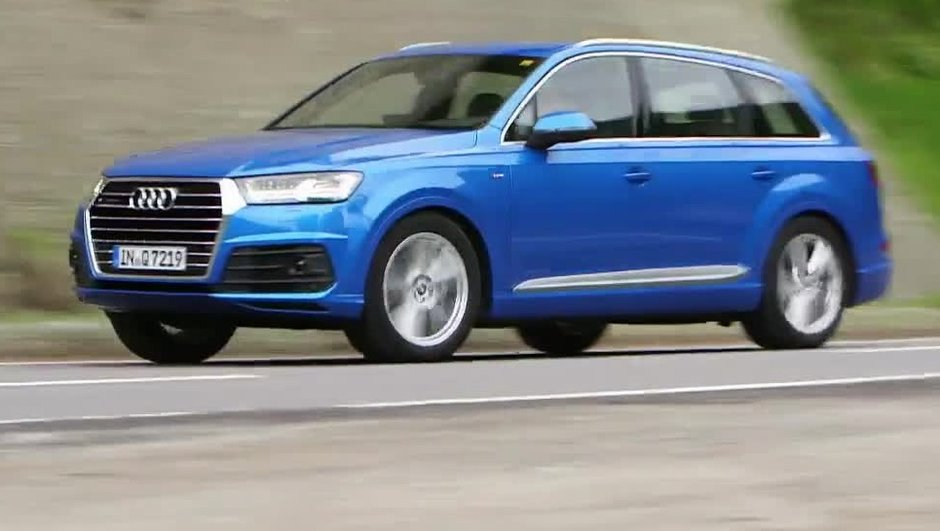 Le nouvel Audi Q7 2015 à l'essai