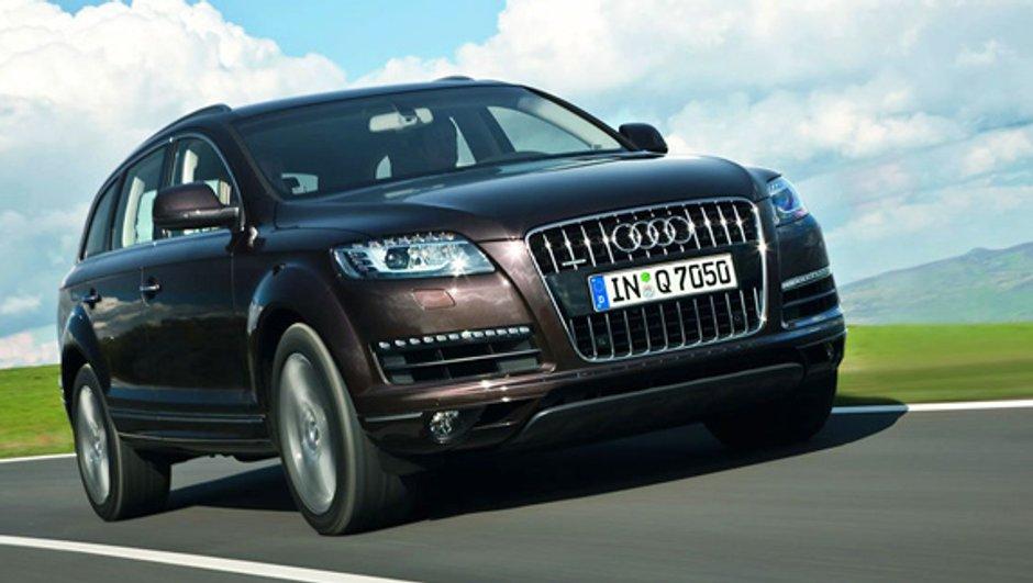 """Audi proposera un Q7 """" e-tron """""""