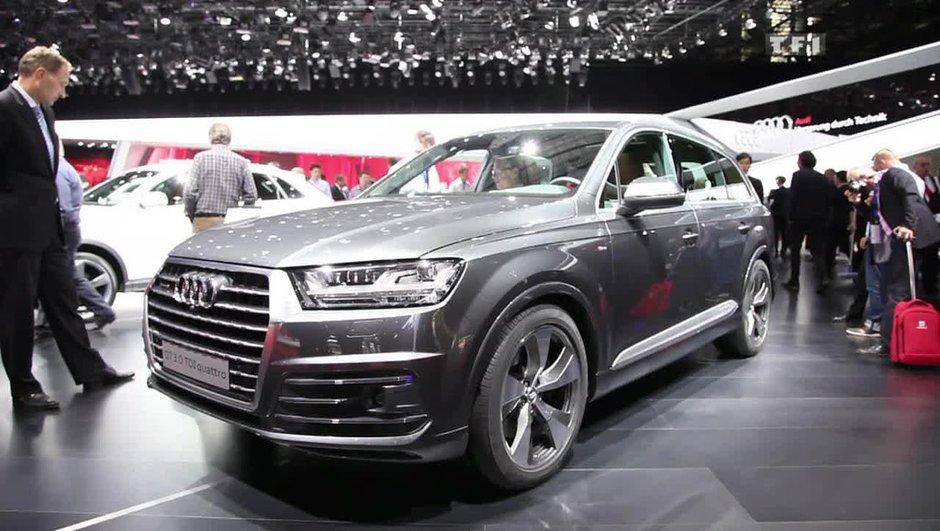 Officiel : des futurs SUVs Audi Q1, Q8 et... électrique