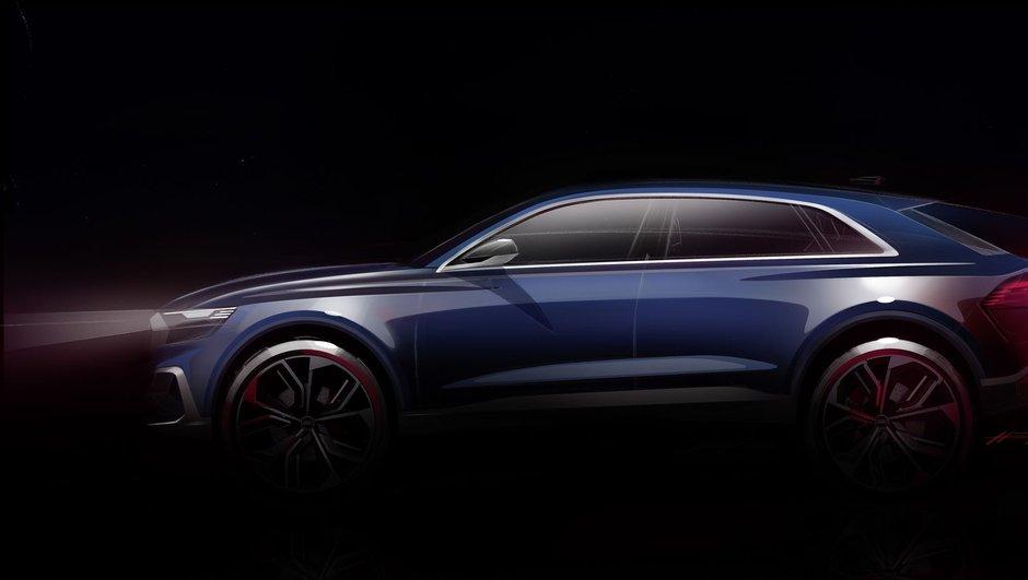 L'Audi Q8 Concept sera dévoilé au Salon de Détroit 2017