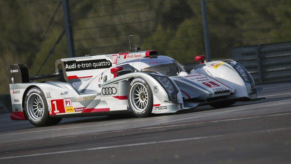 """Endurance 2013: l'Audi R18 e-tron """"long tail"""" débutera à Spa"""