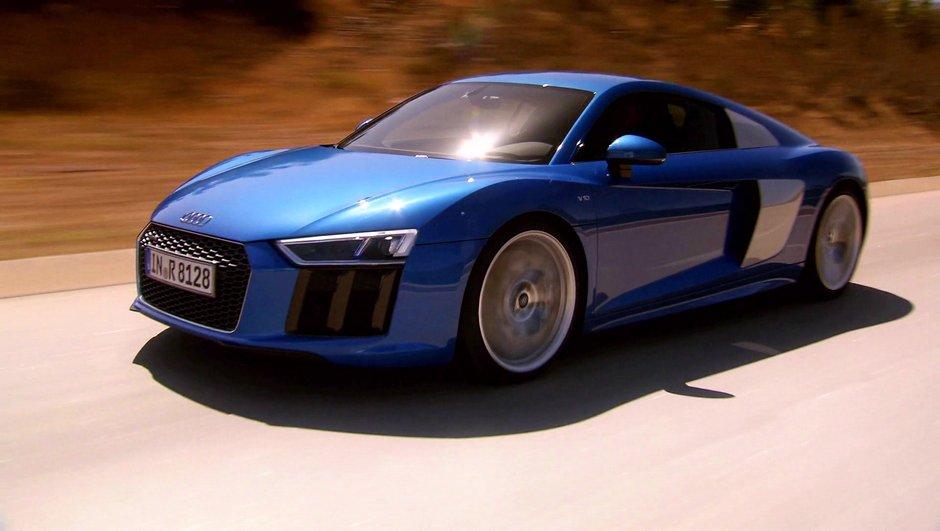 Sommaire : la nouvelle Audi R8 dans Automoto ce 4 octobre 2015