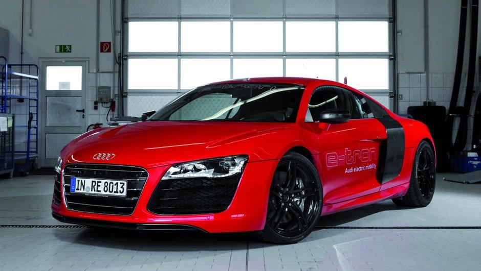 Audi R8 e-tron : la sportive électrique ne sera pas commercialisée