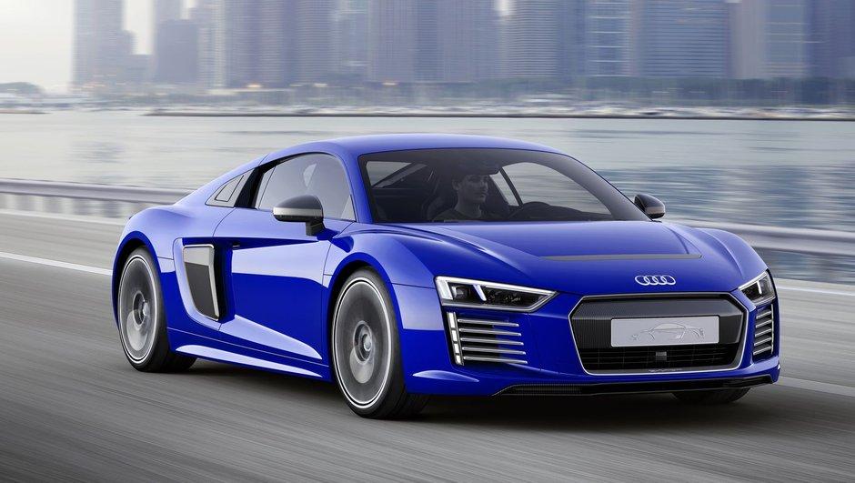 Audi présente un concept R8 e-tron semi-autonome