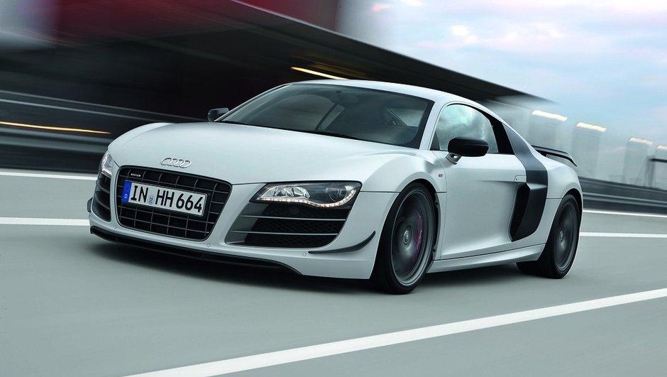 Temps canon pour l'Audi R8 GT sur le Nürburgring ?