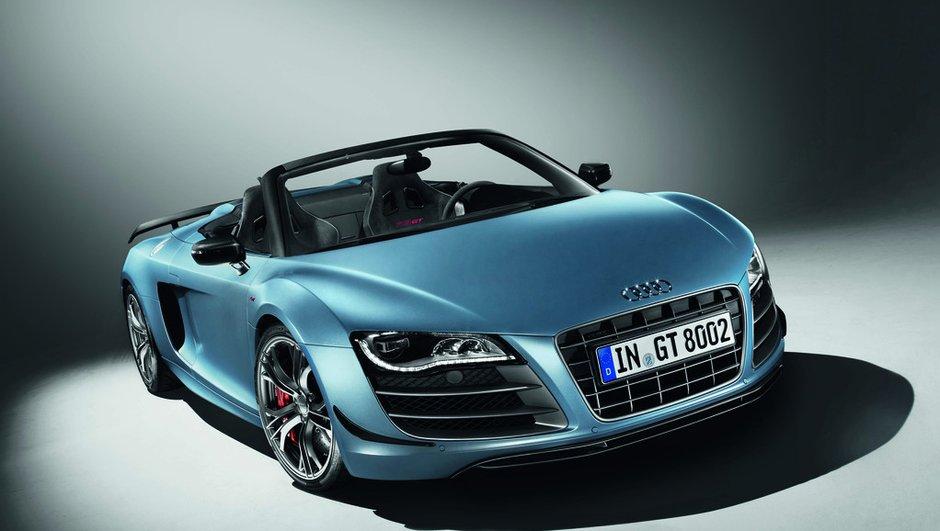 Audi R8 GT Spyder : 317 km/h pour 333 élus