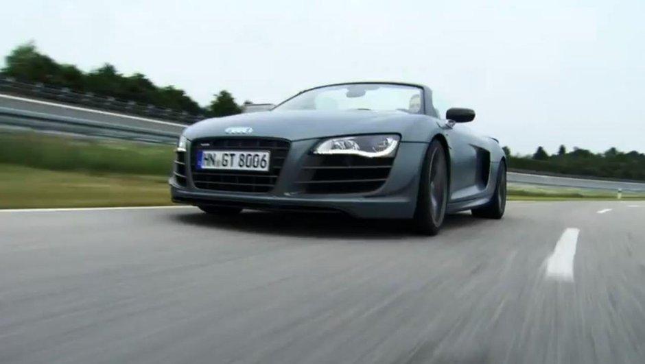 Audi R8 GT Spyder : la vidéo officielle