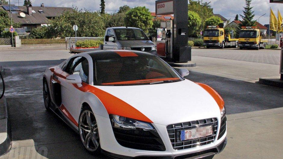 Une Audi R8 extrême en liberté ?